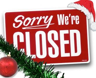 Kantoor gesloten